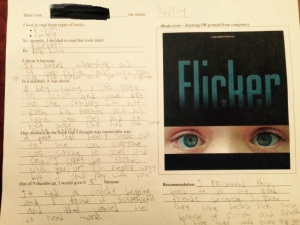 Flicker Book Report